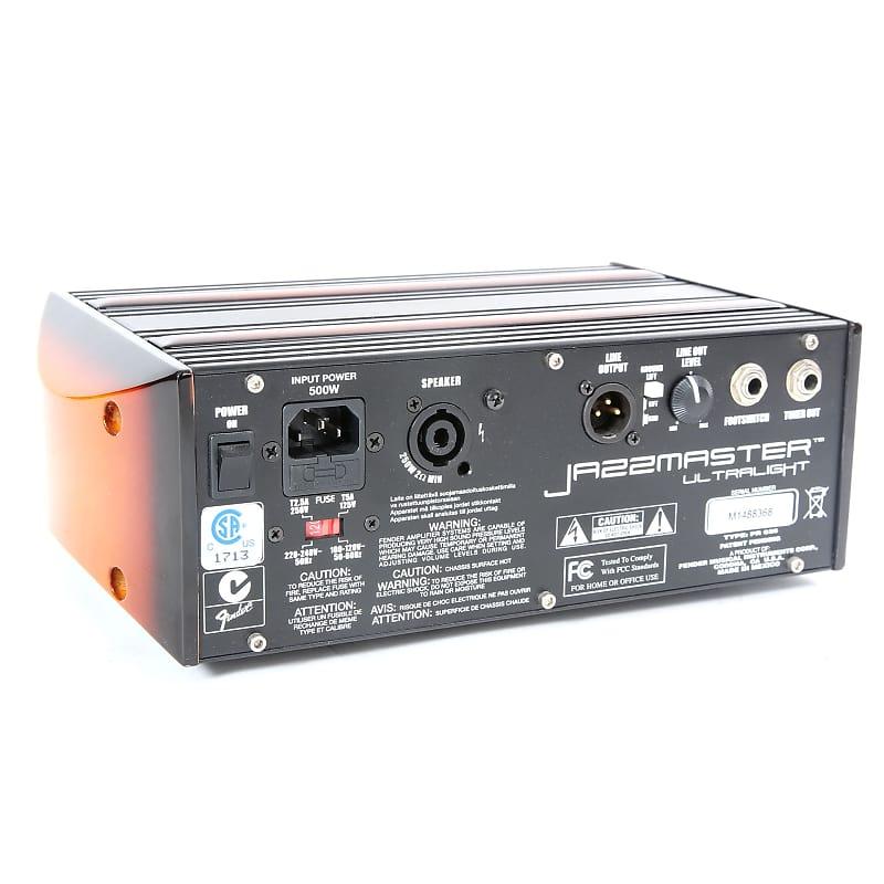 fender jazzmaster ultralight 2 channel 250 watt guitar amp reverb. Black Bedroom Furniture Sets. Home Design Ideas