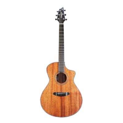 Breedlove Wildwood Concert Satin CE African Mahogany-African Mahogany, Acoustic-Electric