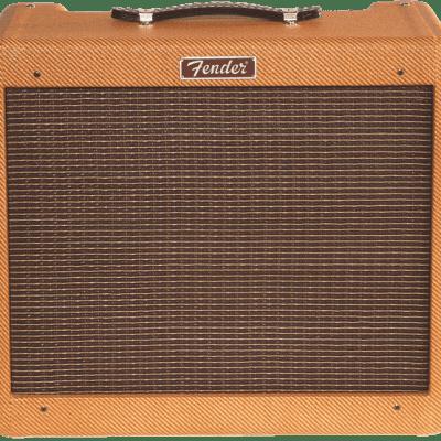Fender Blues Jr. Lacquered Tweed 1x12 EL-84 Tube Combo Guitar Amplifier