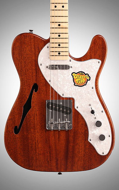 squier classic vibe telecaster thinline electric guitar reverb. Black Bedroom Furniture Sets. Home Design Ideas