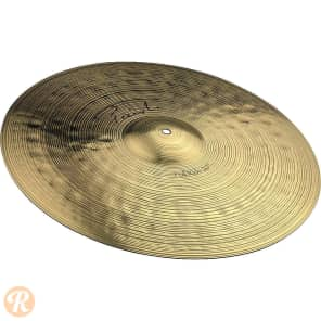 "Paiste 20"" Signature Full Ride Cymbal Traditional"