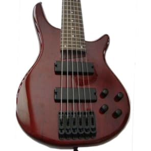 Fishbone PB6 DC 6 String Bass Awesome bass Guitar for sale