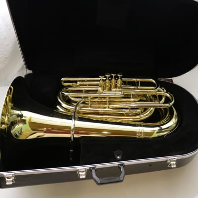 King Model 2341W Intermediate 4-Valve Front Action Tuba SN 614291 OPEN BOX