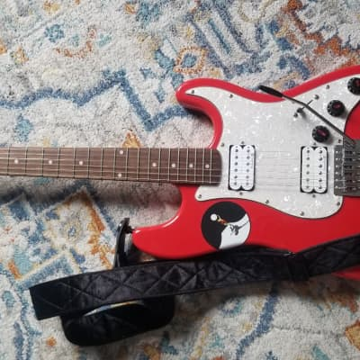 Lace Huntington-Stratocaster HH Style  Candy Red for sale