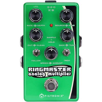 Pigtronix Ringmaster Ring Modulator Analog Multiplier Effects Pedal Regular