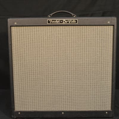 "Fender Hot Rod DeVille 3-Channel 60-Watt 4x10"" Guitar Combo 2000s w/ Cover"