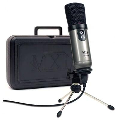 MXL Studio 1 Red Dot USB Recording Kit w/ Condenser Mic