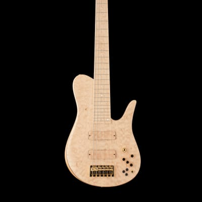 Fodera Custom Imperial Elite 6-string 2018 Maple Quilted for sale