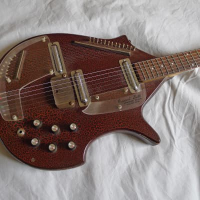 Original Danelectro Vincent Bell Coral Sitar Owned by Tony Camillo Purchased from Bell for sale