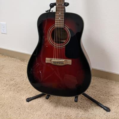Fender DG 60/SB Acoustic Red Burst for sale
