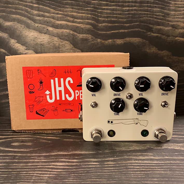 Jhs Double Barrel : jhs double barrel overdrive pedal with original box reverb ~ Hamham.info Haus und Dekorationen