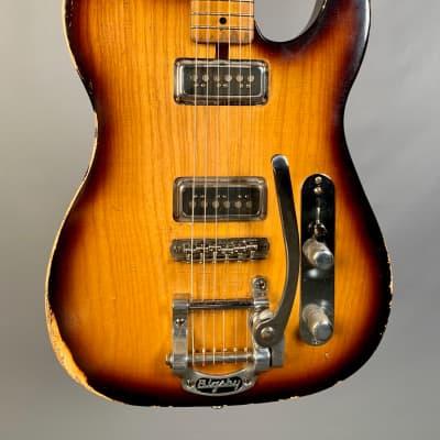 Nacho Guitar 1949 Telecaster Prototype Aged 2-Tone Burst for sale