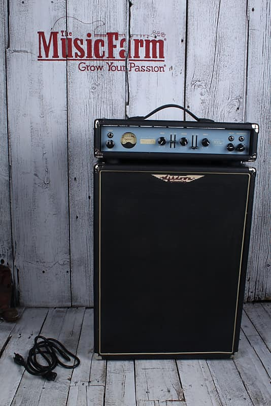Ashdown Five 15 Mini Rig Electric Bass Guitar Amplifier Head and Cabinet Stack image