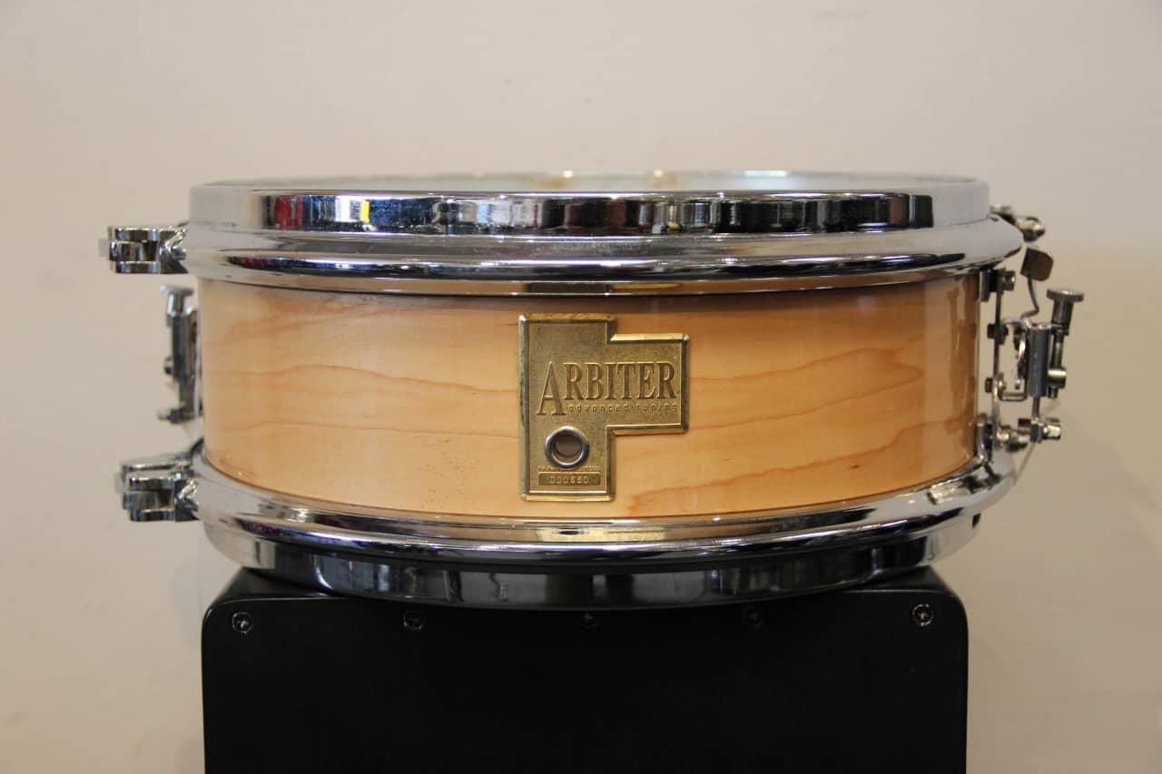 RARE Arbiter Drums 5x13 Maple Snare Drum One Lug Tuning ...