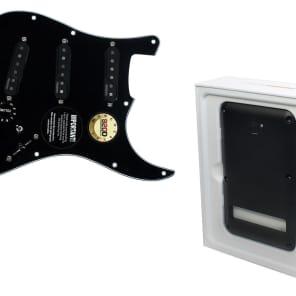 920D Custom Shop 214-12-13-XC-BP Fishman Fluence Loaded Strat Pickguard w/ L.R. Baggs Control-X Preamp, Battery Pack