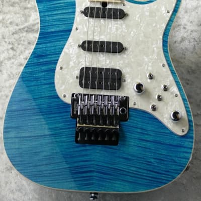 T's Guitars DST-Classic Drop Top ~Bora Bora Blue~ 2020 for sale