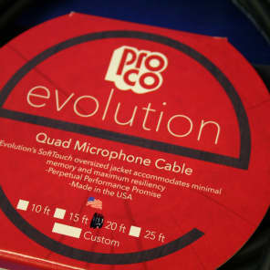 ProCo EVLMCN-20 XLR Evolution Microphone Cable - 20'