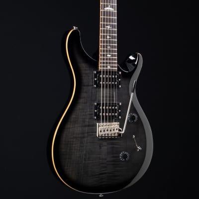 PRS SE Custom 24 Charcoal Burst 958