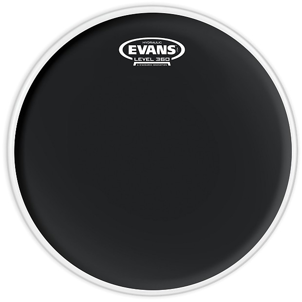 evans tt10hbg 10 black hydraulic drum head alto music reverb. Black Bedroom Furniture Sets. Home Design Ideas
