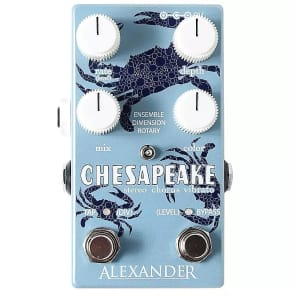 Alexander Pedals Chesapeake Stereo Chorus Vibrato
