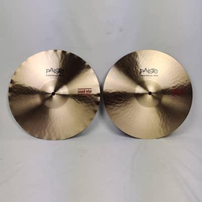 "Paiste 14"" Formula 602 Classic Sound Edge Hi-Hat Cymbals (Pair) Traditional"