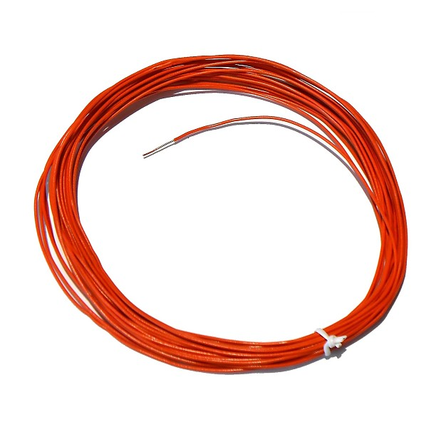 22 AWG Solid Core Tinned Copper Wire, 25 Feet | Reverb