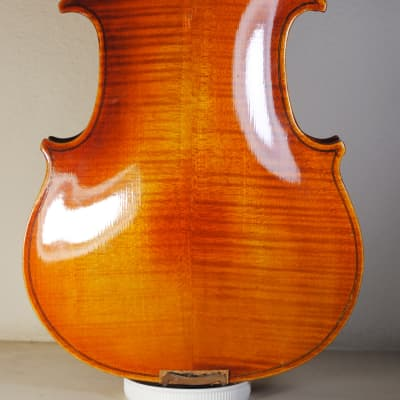 """Old used Czech viola 16"""" VIDEO Stradivarius copy 1713 in immediately playing condition"""