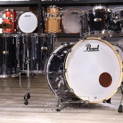 Pearl Session Studio Select 5pc Drum Set Black Mirror Chrome
