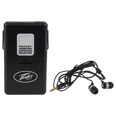 Peavey Assisted Listening 72.1 MHz Wireless Receiver
