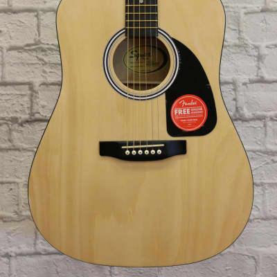 Fender Squier Dreadnought Acoustic Guitar - Natural for sale