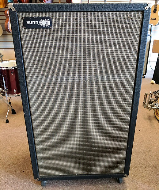 early 70 39 s sunn 610s 6x10 speaker cabinet eminence reverb. Black Bedroom Furniture Sets. Home Design Ideas