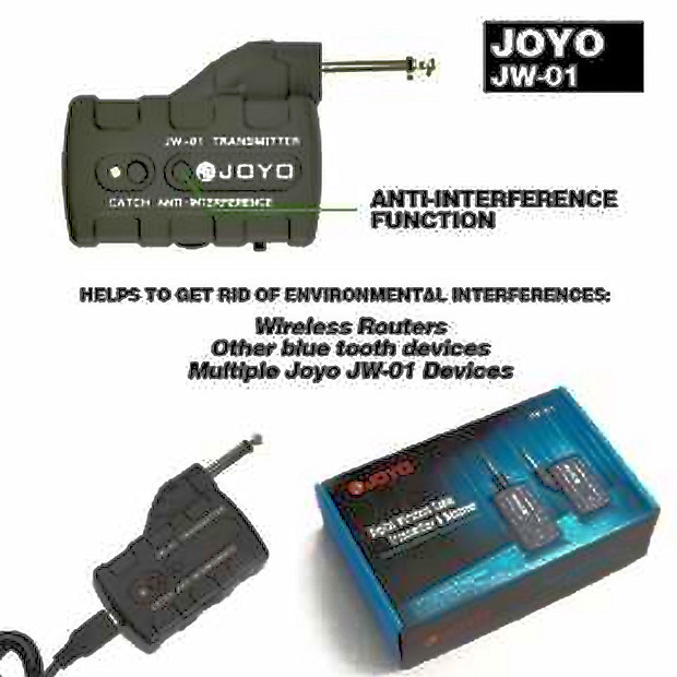 joyo jw 01 digital blue tooth guitar wireless system reverb. Black Bedroom Furniture Sets. Home Design Ideas
