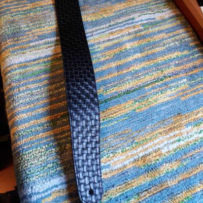 "Planet Waves 2 1/2"" Wide Genuine Leather Basket Weave Strap"