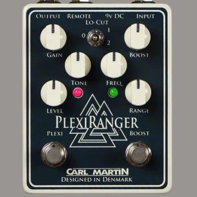 Carl Martin PlexiRanger Overdrive and Treble Booster Guitar Effects Pedal