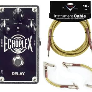 MXR Dunlop EP103 Echoplex Delay w/ Fender Cables