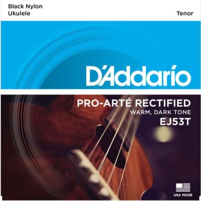 D'Addario EJ53T Pro-Arte Rectified Tenor Ukulele Strings