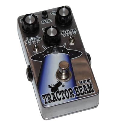 VFE Tractor Beam Phaser Effects Pedal in Limited Edition Chrome