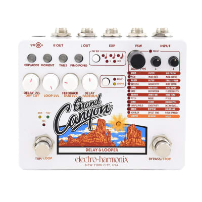 Electro Harmonix Grand Canyon Delay And Looper for sale