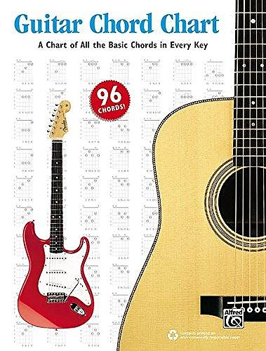 Guitar Chord Chart | Music Books Plus | Reverb