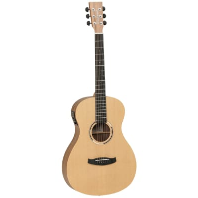 Tanglewood TDBTPEHR Discovery Exotic Parlour Acoustic Electric - Hawaiian Rainwood for sale