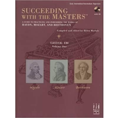 Succeeding with the Masters - Classical Era, Volume 1 (Early Intermediate/Intermediate Repertoire) (w/ CD)