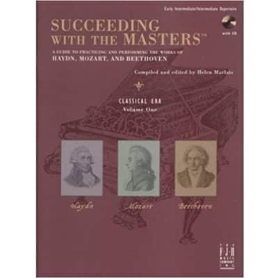 Succeeding with the Masters - Classical Era, Volume 1 (Early Intermediate/Intermediate Repertoire) (w/ CD)