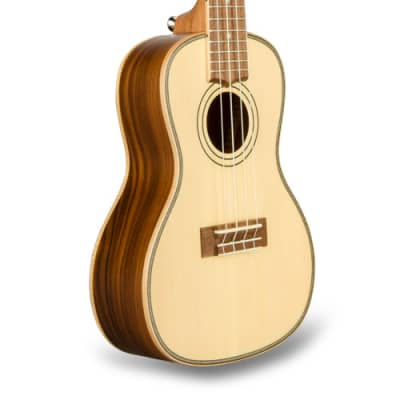 Lanikai Solid Spruce Top Concert Ukulele SPST-C for sale