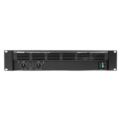 Mackie M800 FR Series 2-Channel Power Amplifier
