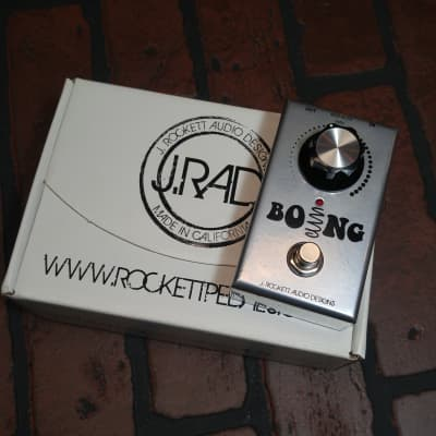 J. Rockett Audio Designs Boing Reverb Pedal w/Box for sale
