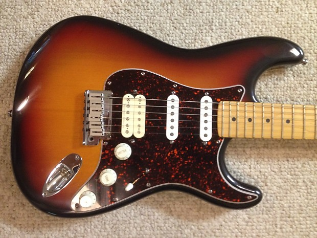 1998 Fender Stratocaster Fat Strat American Deluxe