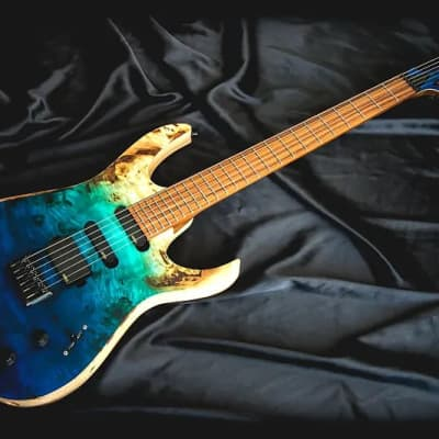 Skervesen Skervesen Raptor HSS Custom Shop 2019 Blue Horizontal Fade 2019 Blue Horizontal Fade for sale