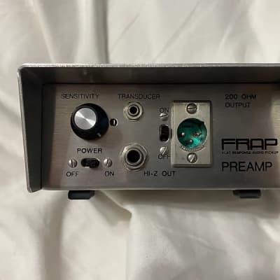 FRAP F-200 1970 Aluminum Pre amp for sale