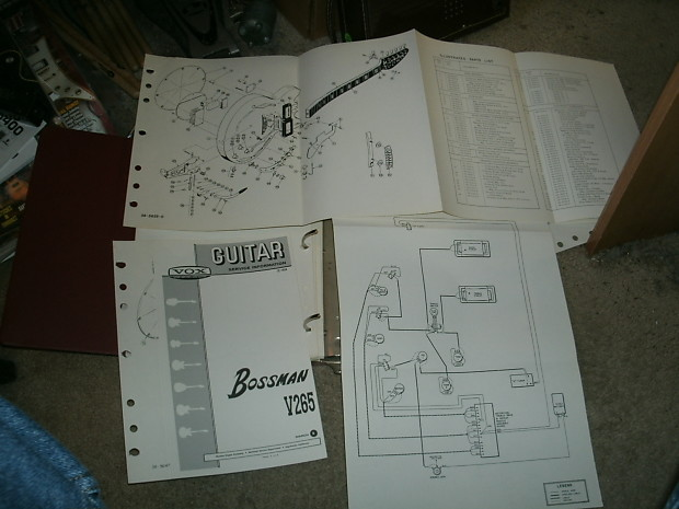 one 1960 39 s vox amp guitar organ accessory schematics reverb. Black Bedroom Furniture Sets. Home Design Ideas