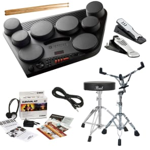 Yamaha DD-75 Digital Drum Kit COMPLETE DRUM BUNDLE